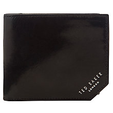 Buy Ted Baker Dornas Embossed Leather Bifold Wallet Online at johnlewis.com