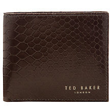 Buy Ted Baker Carono Billfold Wallet, Brown Online at johnlewis.com