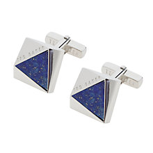 Buy Ted Baker Crinan Triangular Cufflinks Online at johnlewis.com
