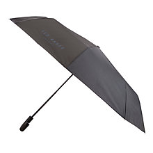 Buy Ted Baker Geo Print Umbrella, Navy Online at johnlewis.com
