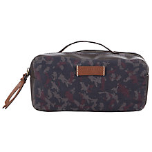 Buy Ted Baker McGuigan Camo Wash Bag, Navy Online at johnlewis.com