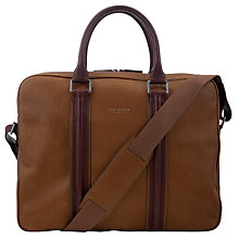 Buy Ted Baker Qwest Leather Doctor's Bag Online at johnlewis.com