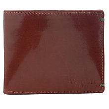 Buy Ted Baker Provols Bright Billfold Wallet, Tan Online at johnlewis.com