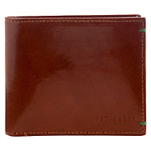 Buy Ted Baker Asiago Bright Billfold Tan Wallet Online at johnlewis.com