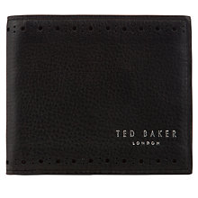 Buy Ted Baker Mantal Leather Billfold Wallet Online at johnlewis.com