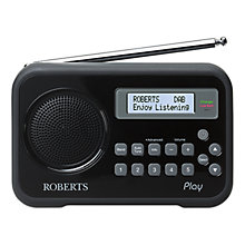 Buy ROBERTS Play DAB/FM Digital Radio Online at johnlewis.com