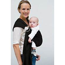 Buy Babylonia BB Baby Sling, Blackbean Online at johnlewis.com