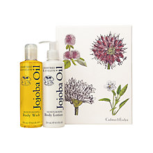 Buy Crabtree & Evelyn Jojoba Oil Bath & Body Duo, 2 x 250ml Online at johnlewis.com