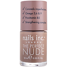 Buy Nails Inc. The Perfect Nude Nail Polish, 10ml Online at johnlewis.com
