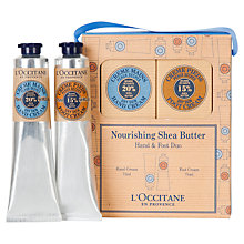 Buy L'Occitane Shea Hand & Foot Cream Duo, 2 x 75ml Online at johnlewis.com