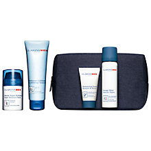 Buy Clarins Mens Grooming Essentials Gift Set Online at johnlewis.com