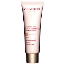 Buy Clarins Hydra Quench Tinted Moisturiser Online at johnlewis.com