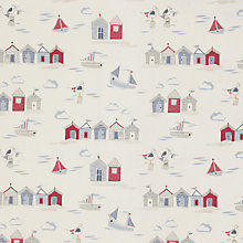 Buy John Lewis Beside The Seaside Furnishing Fabric, Blue Online at johnlewis.com