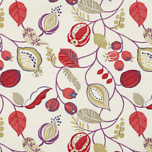 Buy John Lewis Hawthorn Berry Fabric Online at johnlewis.com