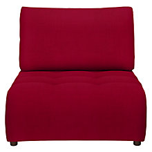 Buy House by John Lewis Flex Chaise End Unit, Fraser Red Online at johnlewis.com
