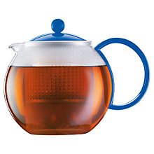 Buy Bodum Assam Tea Press Teapot, 1L Online at johnlewis.com