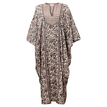 Buy East Samode Oversized Kaftan, White Online at johnlewis.com