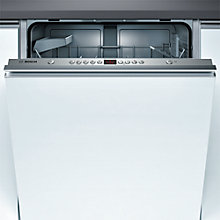 Buy Bosch SMV53A00GB Fully Integrated Dishwasher Online at johnlewis.com