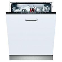 Buy Neff S51E50X1GB Fully Integrated Dishwasher Online at johnlewis.com