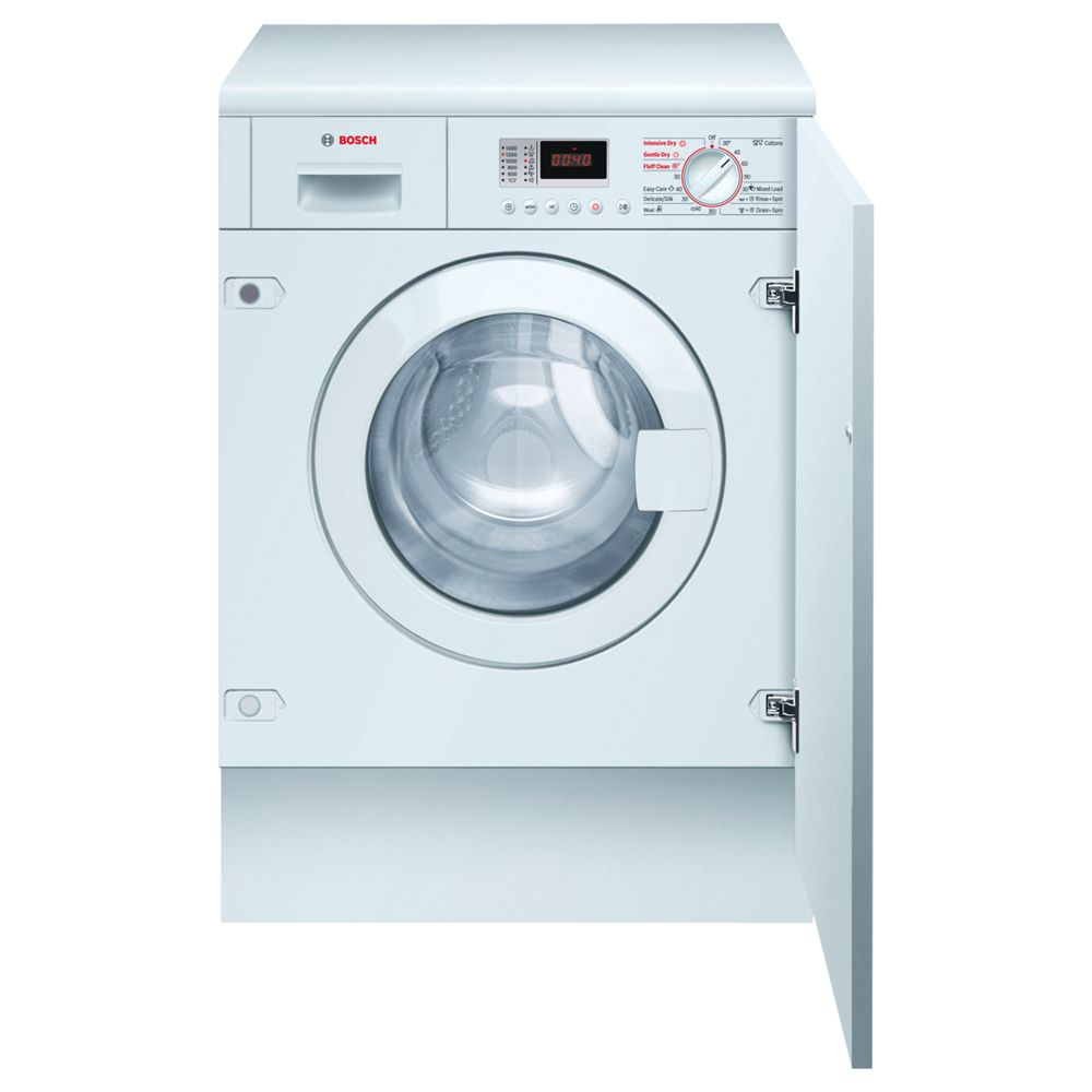 Bosch Avantixx WKD28350GB 1400 Spin 6+3Kg Integrated Washer Dryer in White