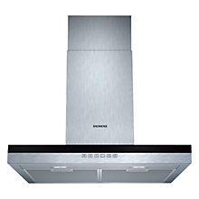 Buy Siemens LC67BE532B Chimney Cooker Hood, Stainless Steel Online at johnlewis.com