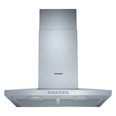 Buy Siemens LC67WA532B Chimney Cooker Hood, Stainless Steel Online at johnlewis.com