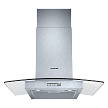 Buy Siemens LC64GB522B Chimney Cooker Hood, Stainless Steel Online at johnlewis.com