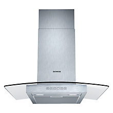 Buy Siemens LC67GB532B Chimney Cooker Hood, Stainless Steel Online at johnlewis.com