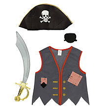 Buy John Lewis Pirate Set Dressing-Up Costume Online at johnlewis.com