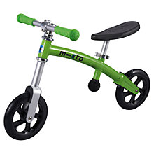 Buy Micro Scooters Micro Balance Bike, Green Online at johnlewis.com
