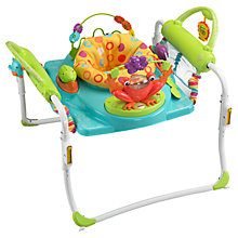 Buy Fisher-Price First Steps Jumperoo Baby Walker with Two Toys Online at johnlewis.com