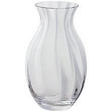 Buy Dartington Crystal Florabundance Oval Vase Online at johnlewis.com