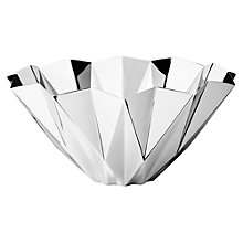 Buy Georg Jensen Steel Supernova Bowl, Tall Online at johnlewis.com