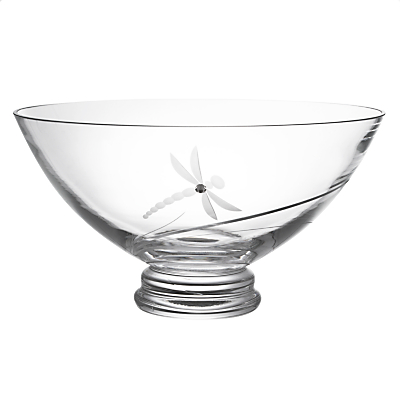 Image of Dartington Crystal Dragonfly Bowl