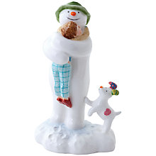 Buy John Beswick Snowdog & Snowman Ornament Online at johnlewis.com