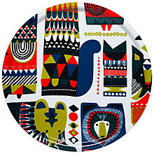 Buy Marimekko Kukkuluuruu Round Tray Online at johnlewis.com