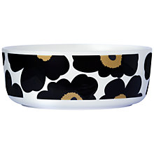 Buy Marimekko Unikko Anniversary Serving Bowl Online at johnlewis.com