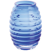 Buy Dartington Little Gems Honeycomb Vase, Cobalt Online at johnlewis.com