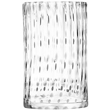 Buy LSA International Twill Vase/ Lantern, H25cm Online at johnlewis.com