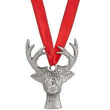 Buy Culinary Creations Stag Christmas Ornament Online at johnlewis.com
