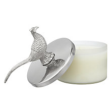 Buy Culinary Concepts Pheasant Wax Filled Candle Online at johnlewis.com