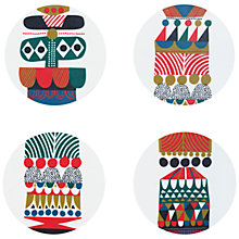 Buy Marimekko Kukkuluuruu Coasters, Set of 4 Online at johnlewis.com