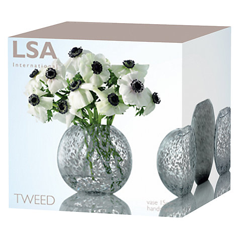 Buy LSA International Tweed Vase, H20cm Online at johnlewis.com