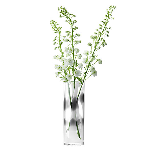 Buy LSA International Tartan Vase, H35cm Online at johnlewis.com