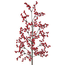 Buy Floral Silk Berry Spray Online at johnlewis.com