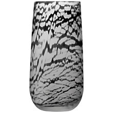 Buy LSA International Silk Vase, H38cm, Black Online at johnlewis.com