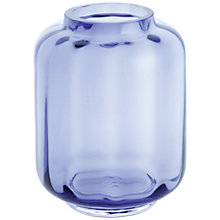Buy Dartington Little Gems Lantern Vase, Amethyst Online at johnlewis.com