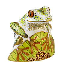 Buy Royal Crown Derby Frogskip Ornament Online at johnlewis.com