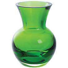 Buy Dartington Little Gems Urn Vase, Lime Online at johnlewis.com