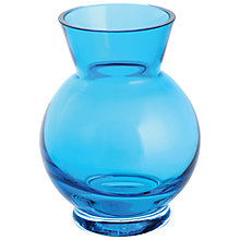 Buy Dartington Little Gems Ball Vase, Teal Online at johnlewis.com